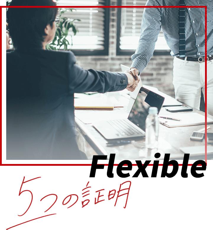 Flexible 5つの証明