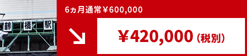 近鉄電車 駅看板 鶴橋駅掲載費用